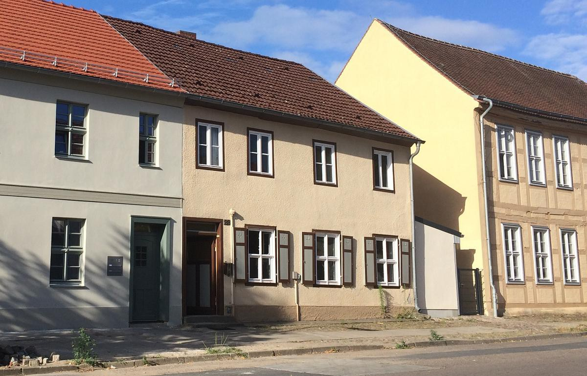 Straßenansicht Bauprojekt Rheinsberg