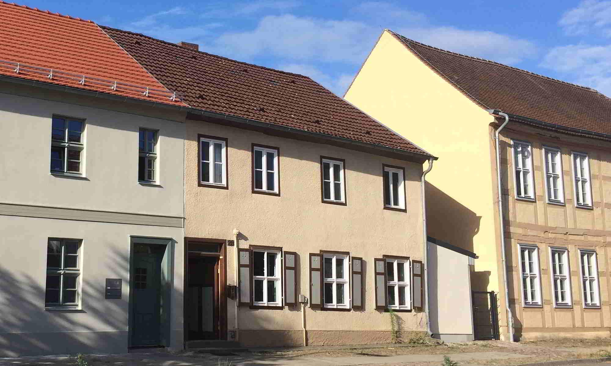 Straßenansicht Fachwerkhaus Rheinsberg